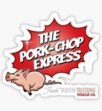 PORK-CHOP EXPRESS - BIG TROUBLE IN LITTLE CHINA Sticker
