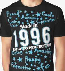 Made In 1996 - Aged To Perfection Graphic T-Shirt