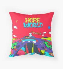 J-Hope Hope World Album Art Throw Pillow