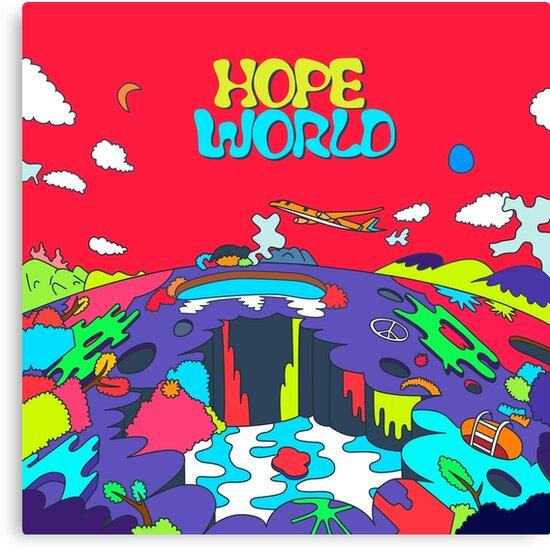 Hope World New Custom Poster Print Art Wall Decor