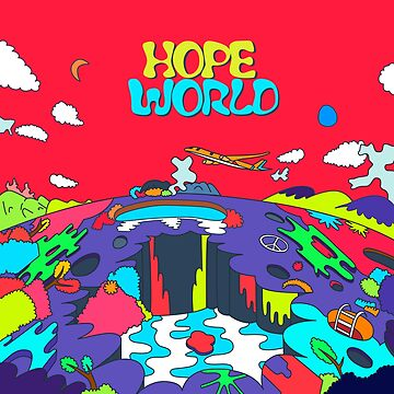 J-Hope Hope World Album Art by imgoodimdone