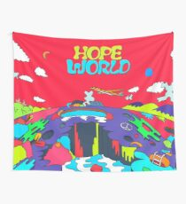 J-Hope Hope World Album Art Wall Tapestry