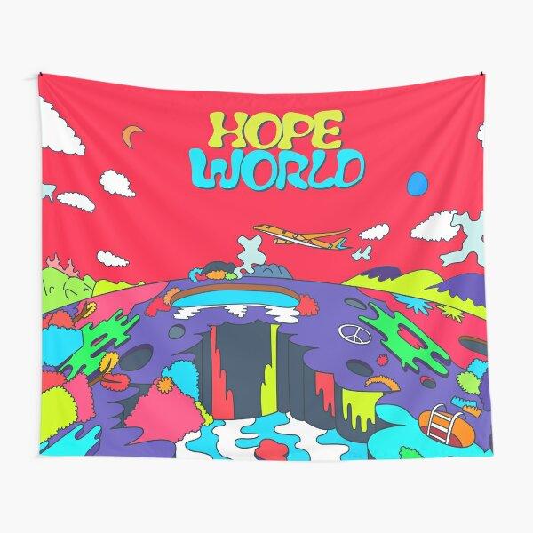 J-Hope Hope World Album Art Tapestry