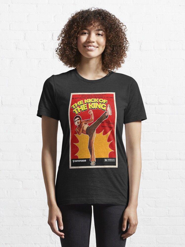 Alternate view of The Kick of the King (Eric Cantona) Essential T-Shirt