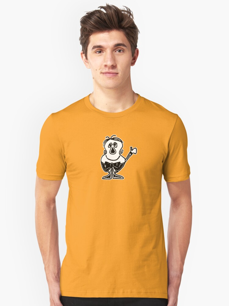 Charlie from Words & Pictures Unisex T-Shirt Front