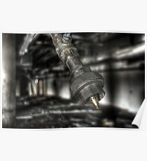 Gas pipe Poster