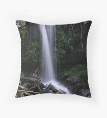 Curtis Falls, Queensland Throw Pillow