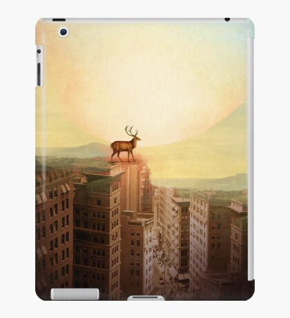 Deer at Dawn iPad Case/Skin