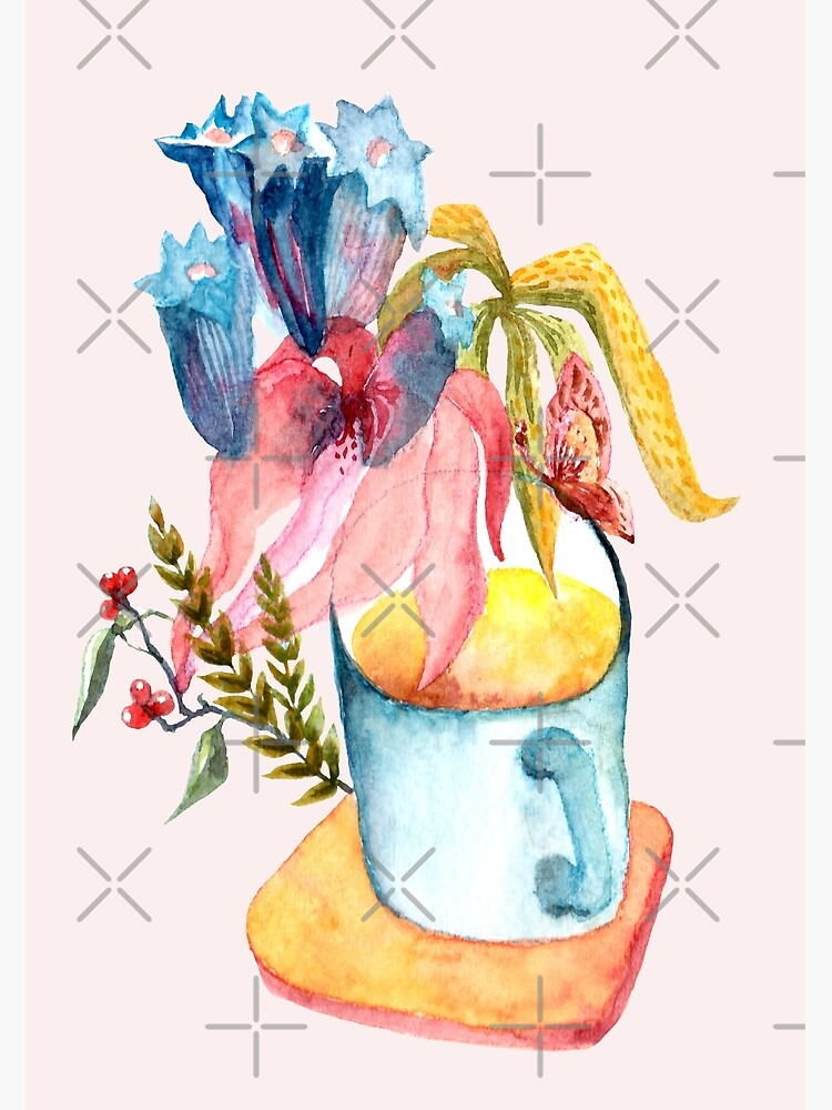 Wild Flowers in a Mug by whya