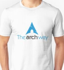 The Arch Way, Arch Linux, Arch Logotype, Arch Logo, Arch Unisex T-Shirt
