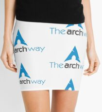 The Arch Way, Arch Linux, Arch Logotype, Arch Logo, Arch Mini Skirt