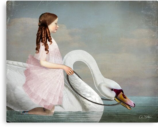 Ride a White Swan by Catrin Welz-Stein