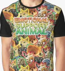 Emotional Support Animal Grafik T-Shirt