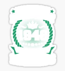February 1946 The Birth Of Legends Sticker