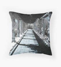 Path in Infared Throw Pillow