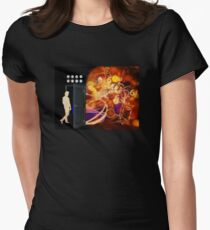 Open The Door To Time Travel Womens Fitted T-Shirt