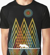 Geometric Nature Fox Graphic T-Shirt