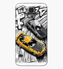 Initial D style artwork, RX7 vs AE86 Case/Skin for Samsung Galaxy