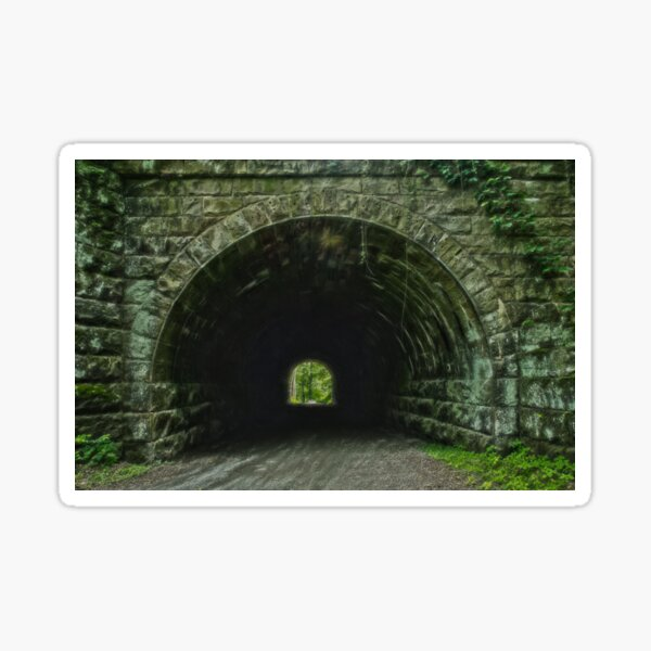 Light at the end of the Tunnel Sticker