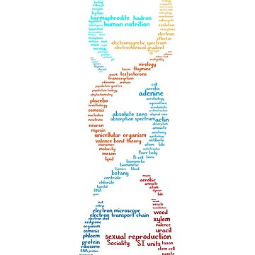Biology DNA Words Gift by Sandra78