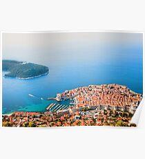 Dubrovnik Aerial View Poster
