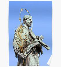 St. John Nepomucene Statue Poster