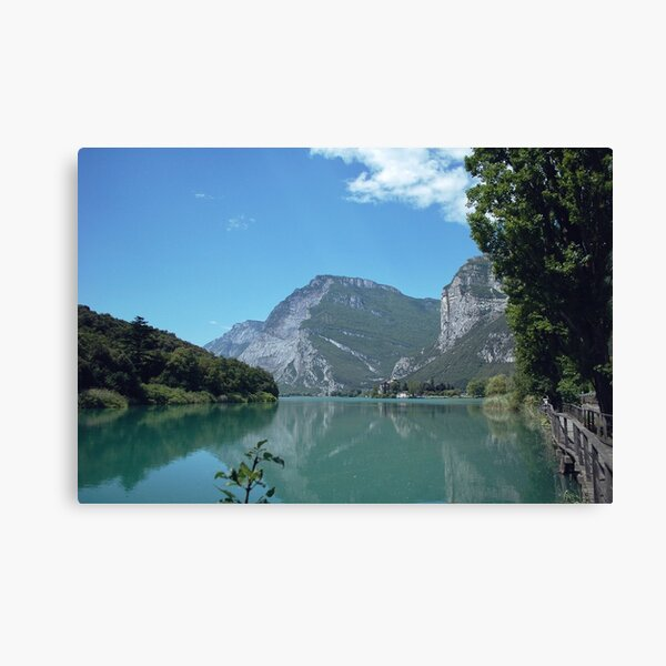 Italian Alps, Reflected Canvas Print