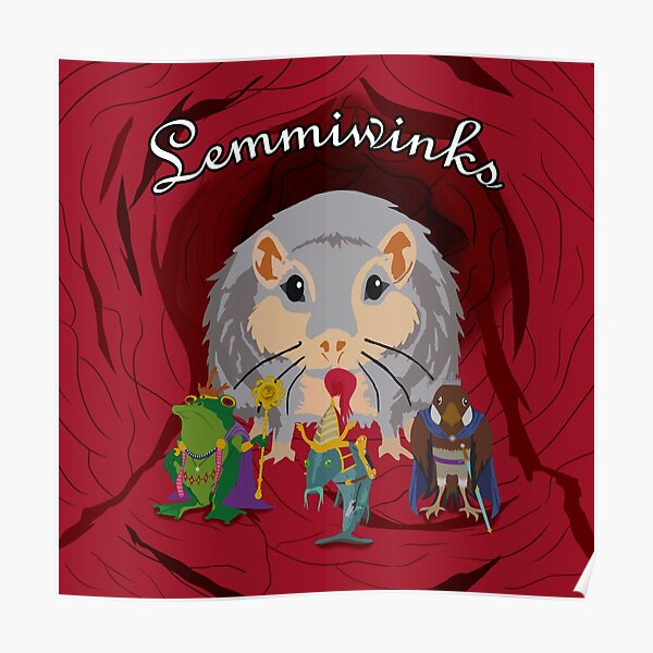 Lemmiwinks Poster