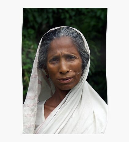 Mising tribe woman, Assam, India Poster