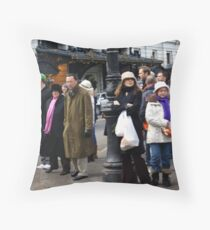 People Everywhere Throw Pillow