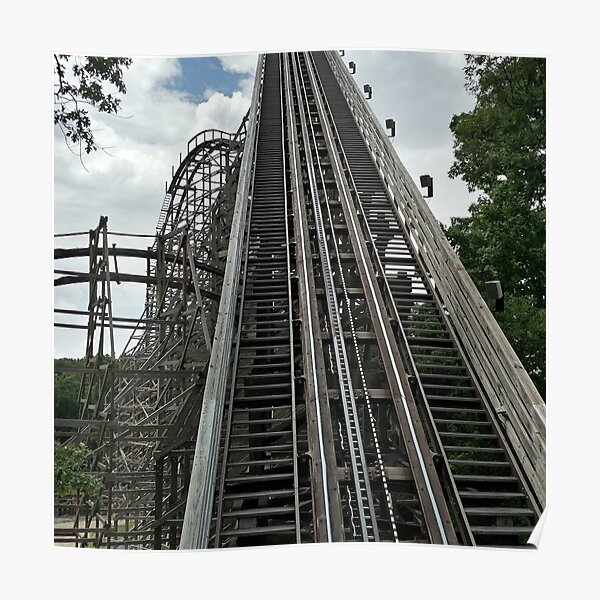 Outlaw Run Rollercoster Poster