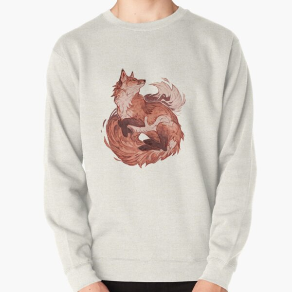 Red fox 2018 redraw  Pullover Sweatshirt