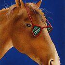 Will Bullas / art print / the horse lover... / humor / animals by Will Bullas