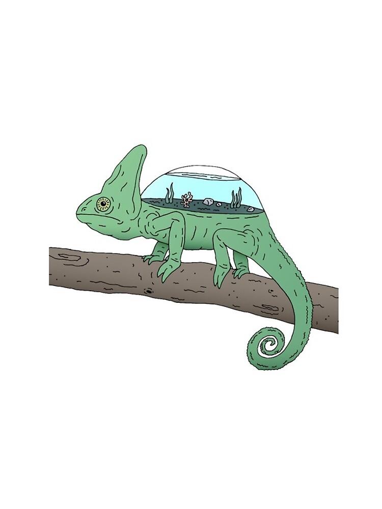 The Rare Aquariumeleon by bekome