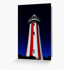 Devonport Lighthouse Greeting Card