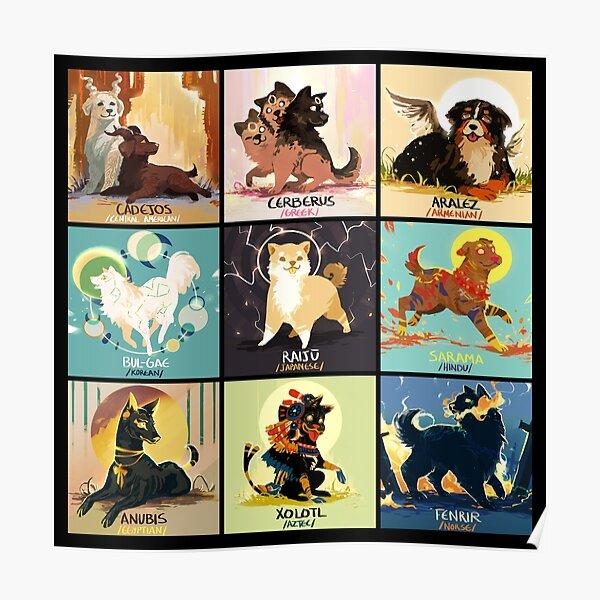 Mytho doggos #2 Poster