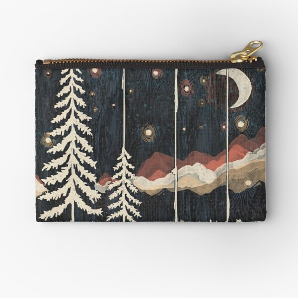 Starry Night in the Mountains... Zipper Pouch