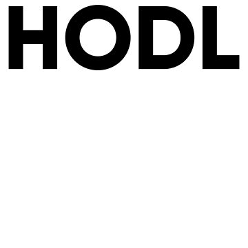 Hodl bitcoin investment sticker by NomadsDesign