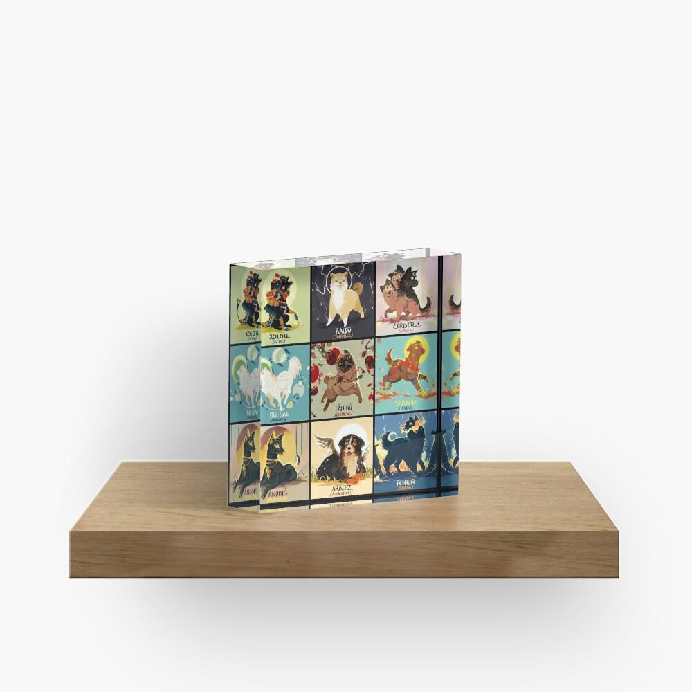 Mytho doggos #1 Acrylic Block