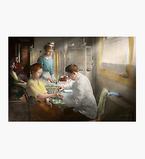 Doctor - Applying first aid - 1917 Photographic Print