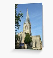 The Crooked Spire Greeting Card