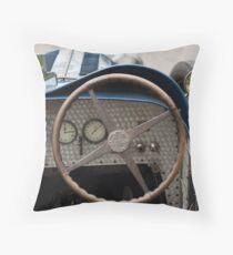 Bugatti Dashboard Throw Pillow