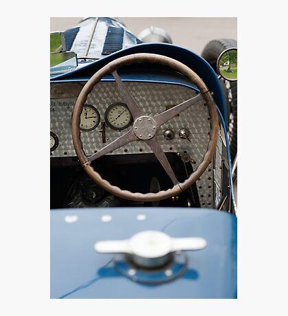 Bugatti Dashboard Photographic Print