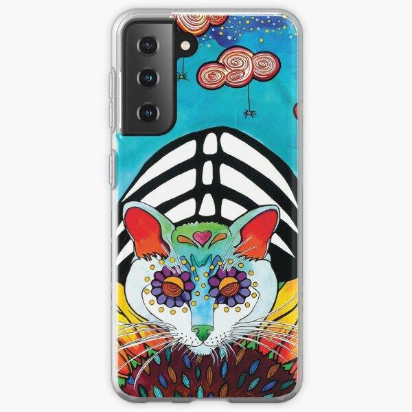 Sunflower Cat Samsung Galaxy Soft Case