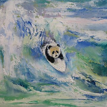 Panda Surfer by michaelcreese