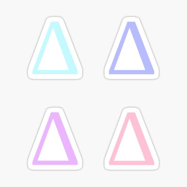 DELTA / 4 PACK / UNICORN Sticker