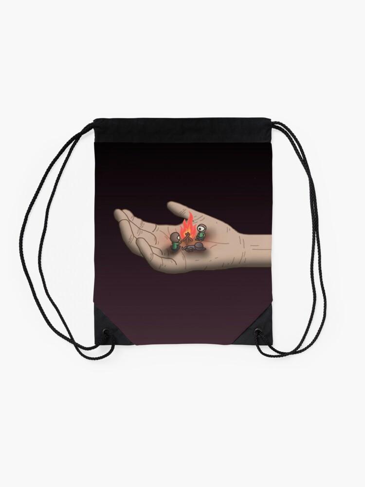 Alternate view of Campfire Drawstring Bag