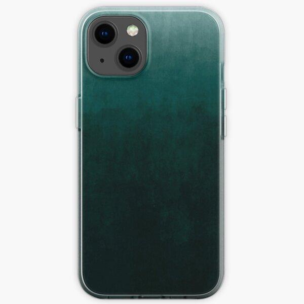 Ombre Emerald iPhone Soft Case