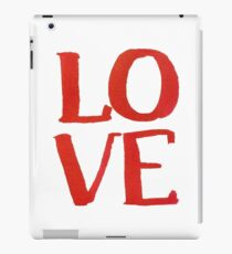 LOVE Brush iPad Case/Skin