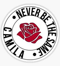 Never be the same - Camila Cabello (Rose) Sticker
